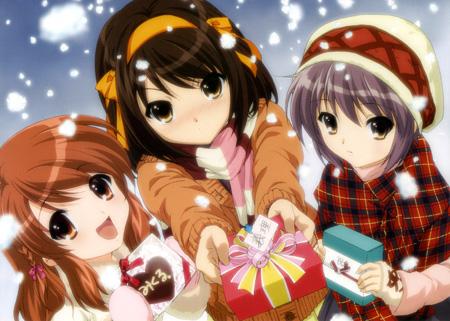Haruhi Christmas