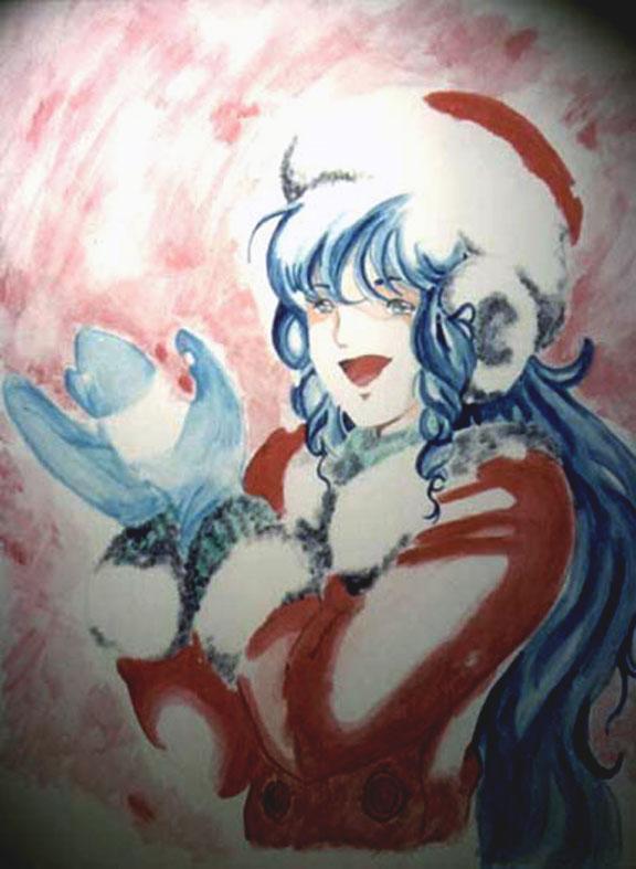 Lynn Minmay Christmas snow