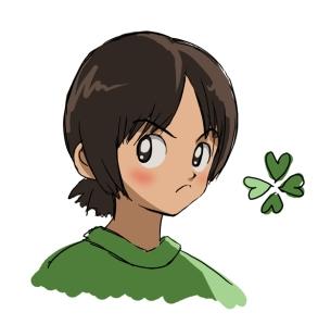 Aoba Tsukishima clover