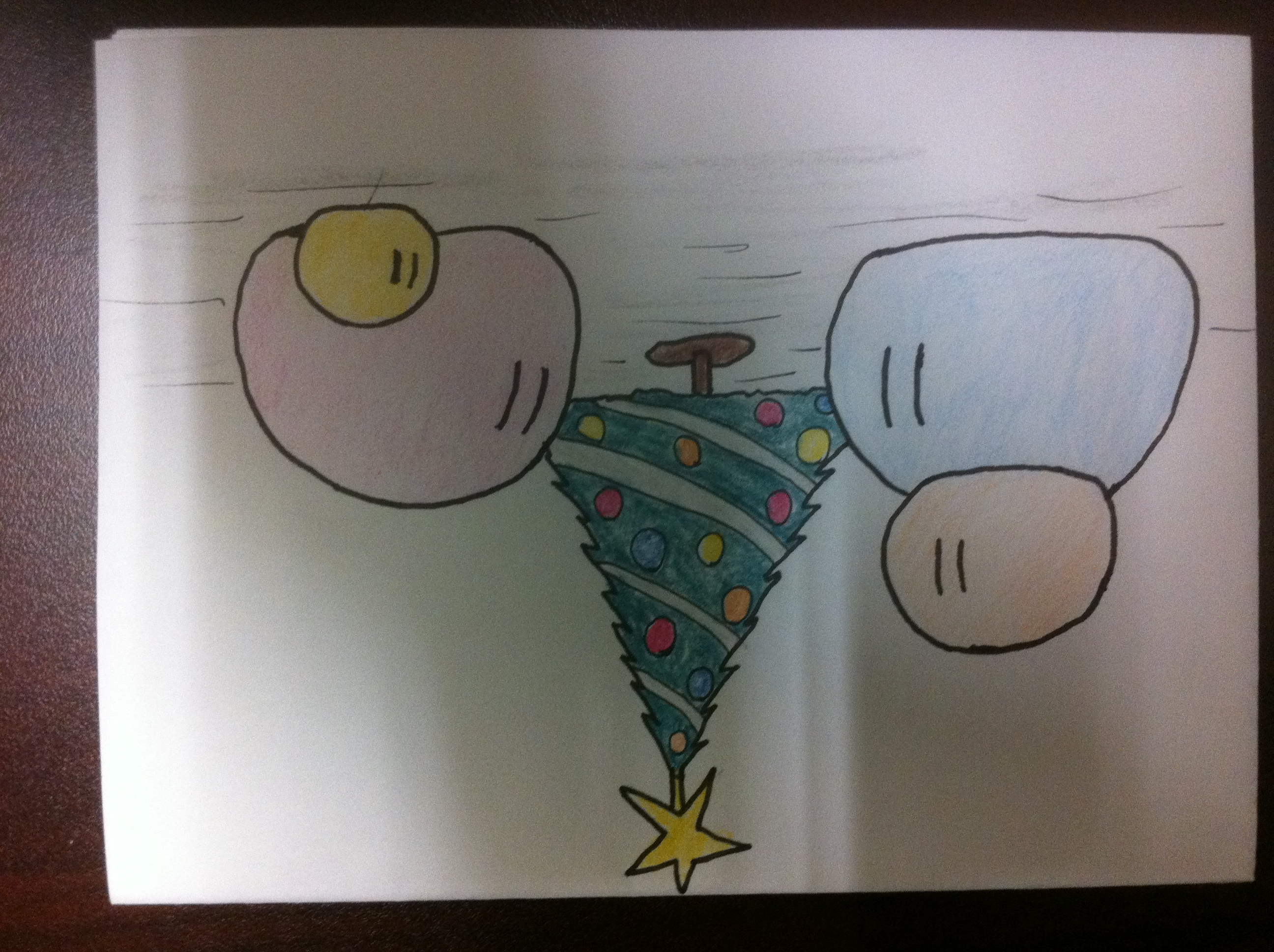Clannad Christmas card