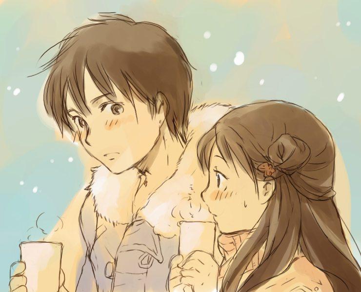 أنمي رومانسي صور أنمي رومانسي sawako-and-kazehaya.