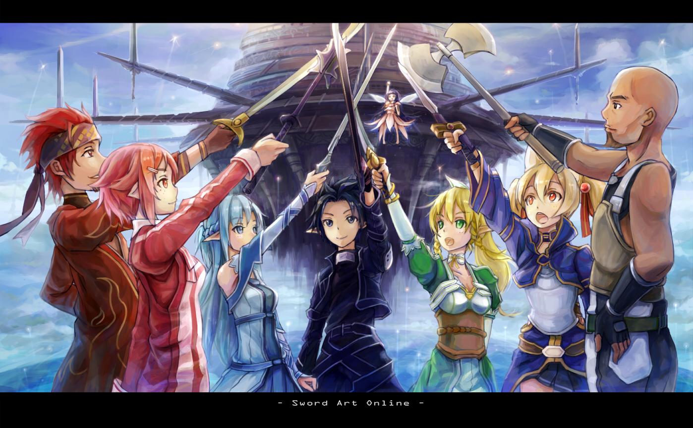 Sword art online episode 25 oh mercy