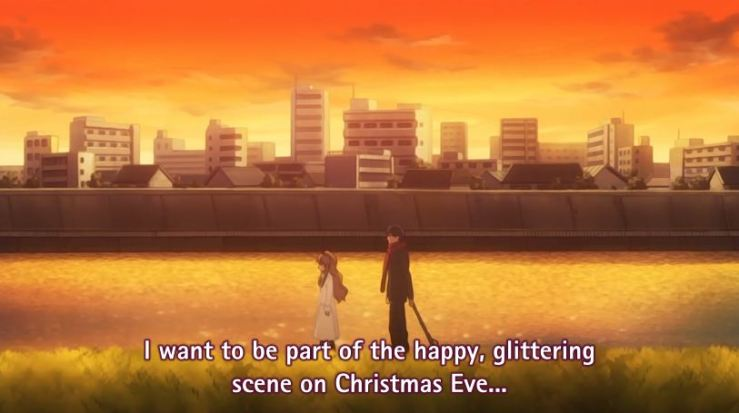 toradora I want to be part of Christmas