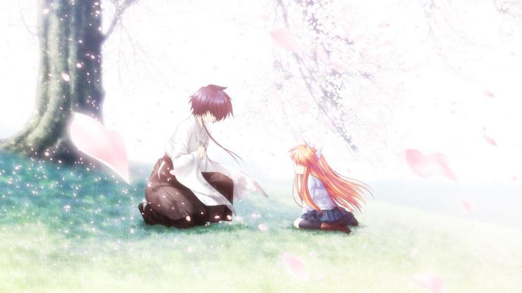 Young Chihaya meeting super familiar and butler, Sakuya.