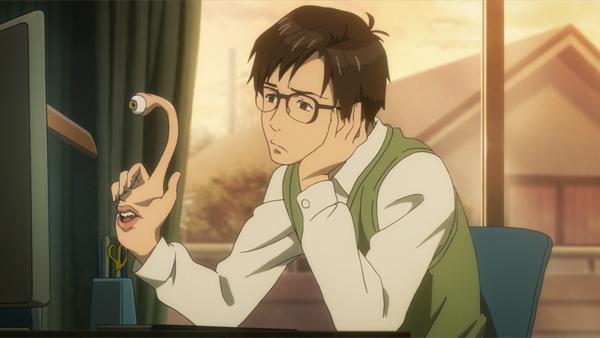 Migi and Shinichi