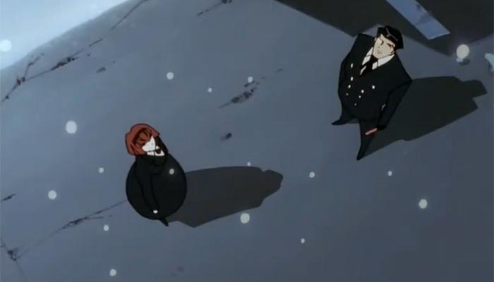 12 days of christmas anime day 4 big o beneath the tangles