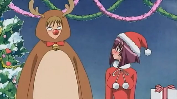 karin and usui christmas