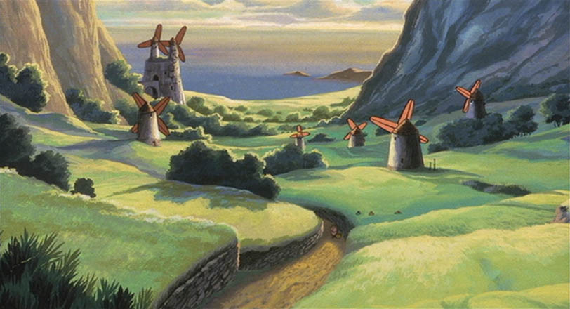 The Valley of the Wind. What a quaint little village.