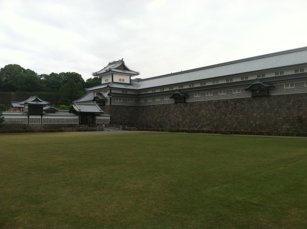 Kanazawa Castle... or what remains of it anyway.