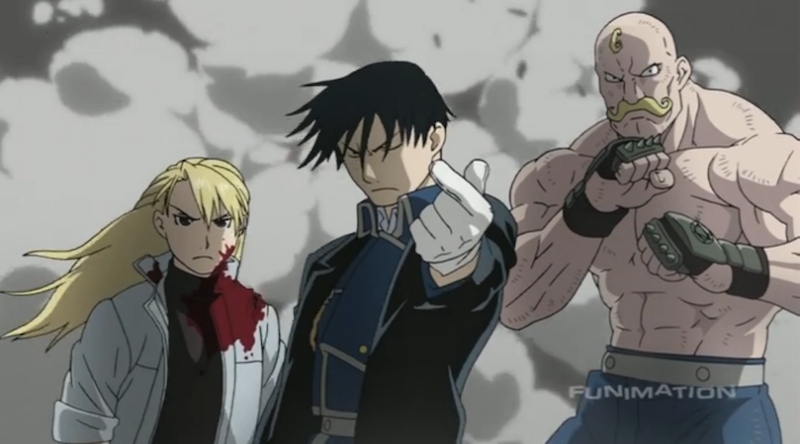 Fullmetal Alchemist Brotherhood is packed with both action and philosophical content. If you watch just for the action and awesome characters, you're missing a big part of it (ep 62).