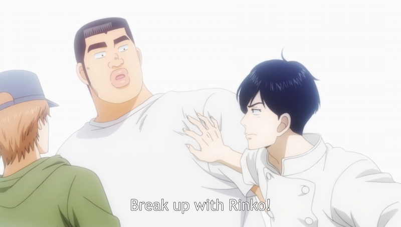 Ichinose demands Takeo break up with Yamato, then explains why he thinks he's a better fit for her. (23)