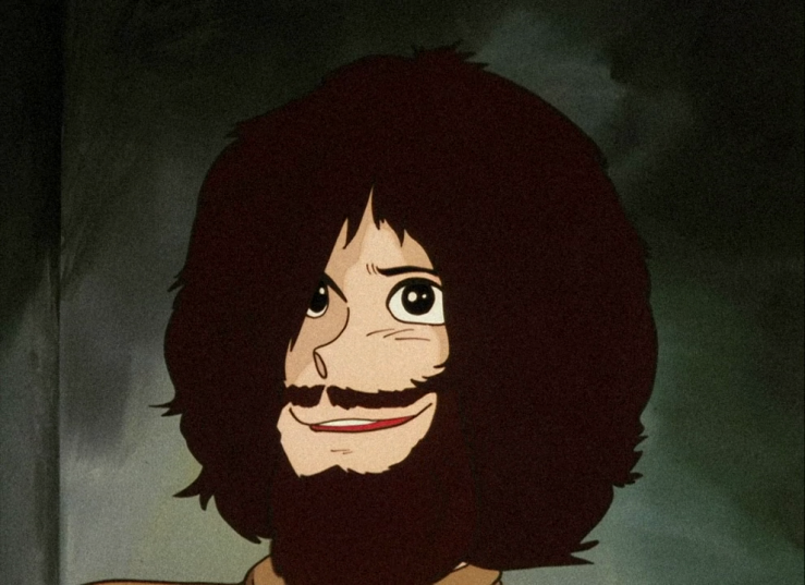 Lupin after a year in jail.