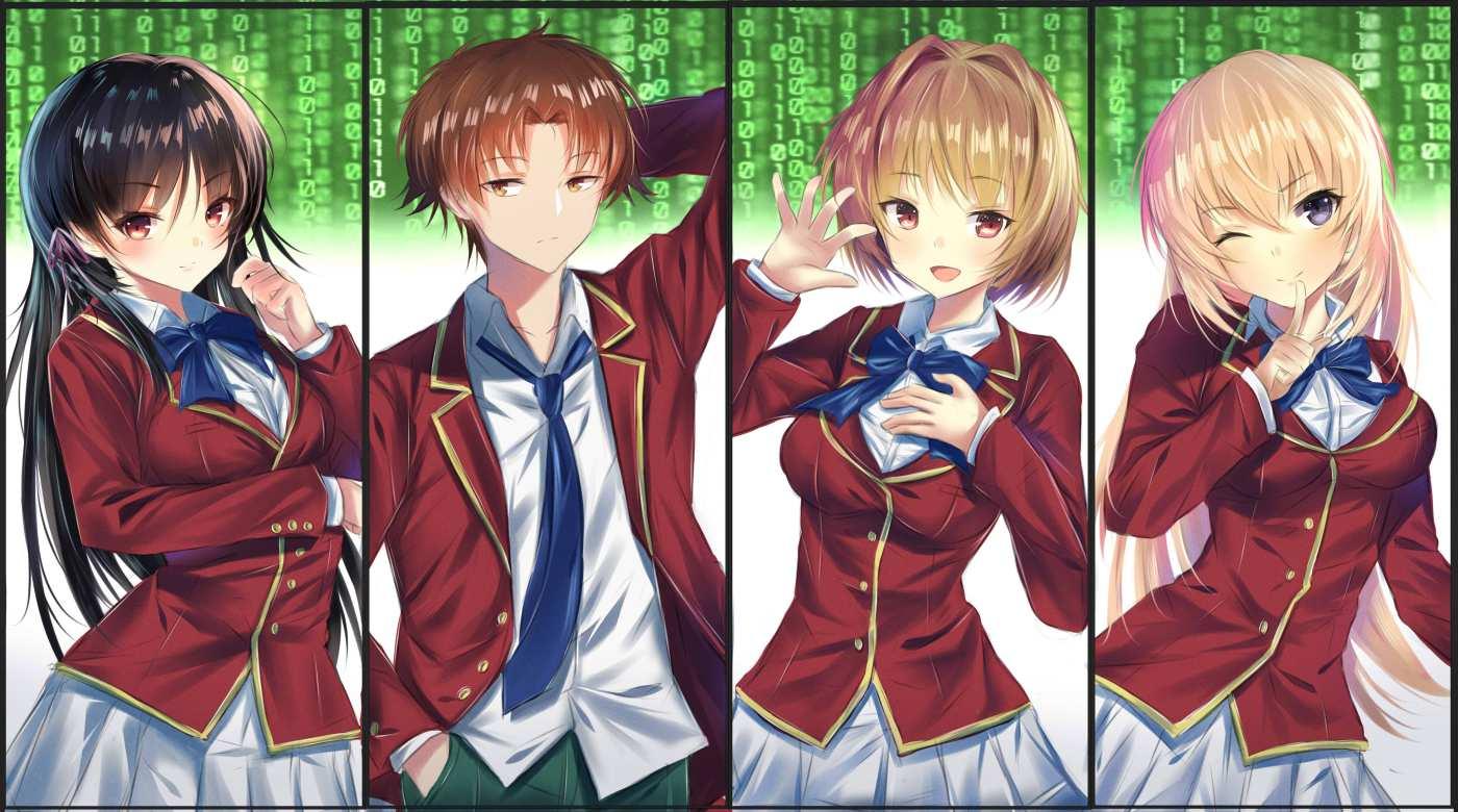 Youkoso Jitsuryoku characters