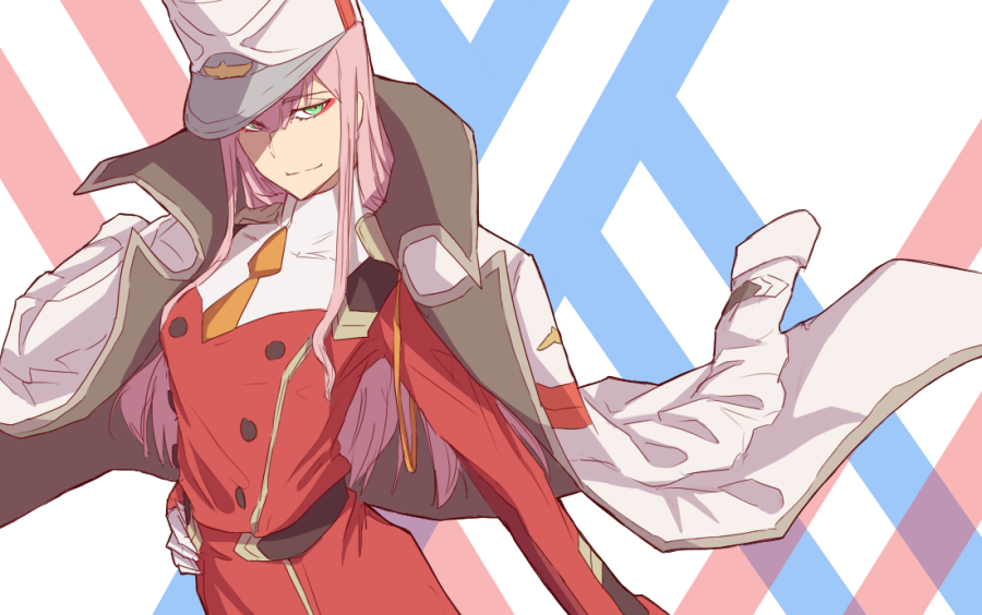 zero zero two darling in the franxx