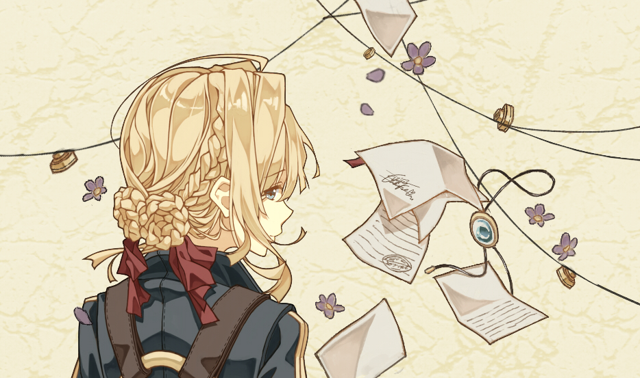 violet evergarden episode 4 ghostwriting our hearts  new lol doll series 4