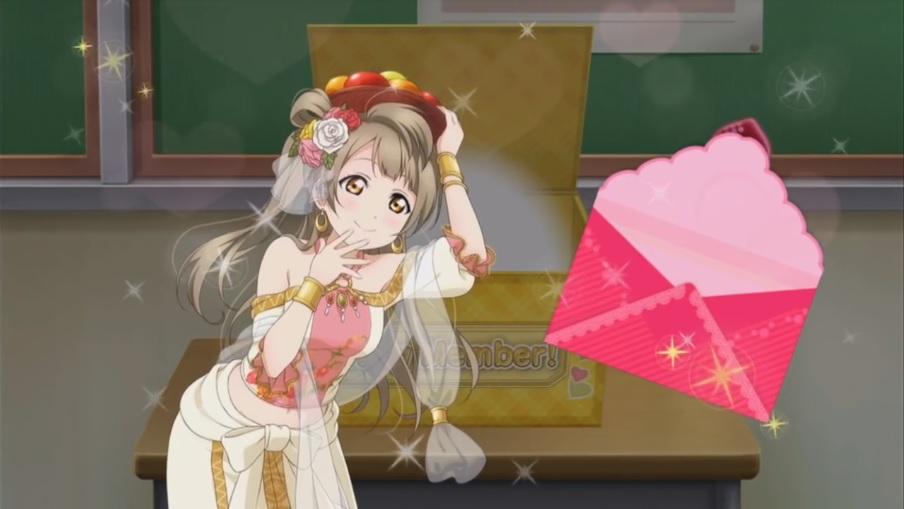 love live school idol festival kotori minami ur