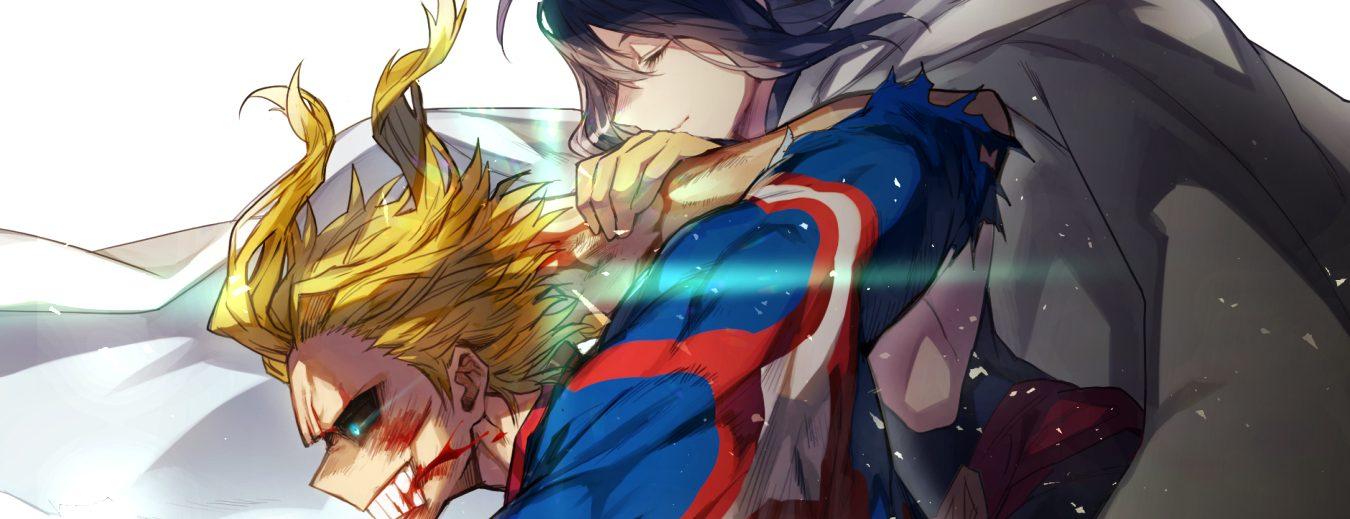 all might and nana shimura