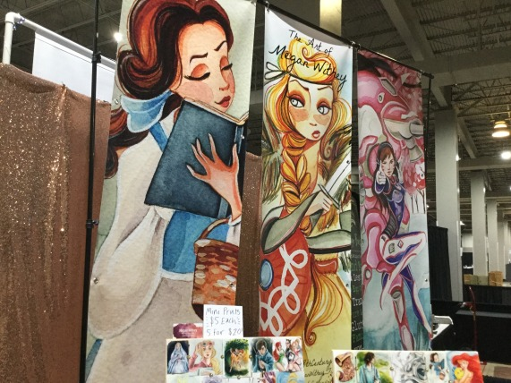 Real nice Disney princess artwork.